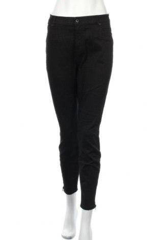 Дамски панталон Witchery, Размер L, Цвят Черен, 66% памук, 31% полиестер, 3% еластан, Цена 11,30лв.