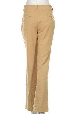 Дамски панталон Zara, Размер S, Цвят Бежов, 68% полиестер, 29% вискоза, 3% еластан, Цена 51,75лв.