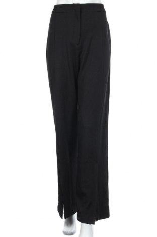 Дамски панталон Zara, Размер L, Цвят Черен, 95% полиестер, 5% еластан, Цена 36,00лв.