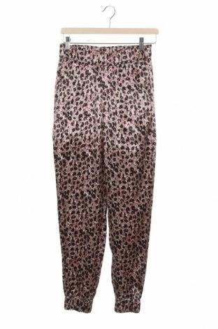 Дамски панталон Zara, Размер XS, Цвят Многоцветен, 55% вискоза, 45% памук, Цена 39,00лв.