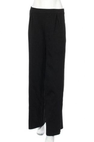 Pantaloni de femei Zara, Mărime M, Culoare Negru, 55% viscoză, 43% poliamidă, 2% elastan, Preț 75,69 Lei
