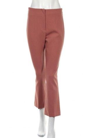 Дамски панталон Zara, Размер M, Цвят Пепел от рози, 74% полиестер, 19% вискоза, 7% еластан, Цена 17,16лв.