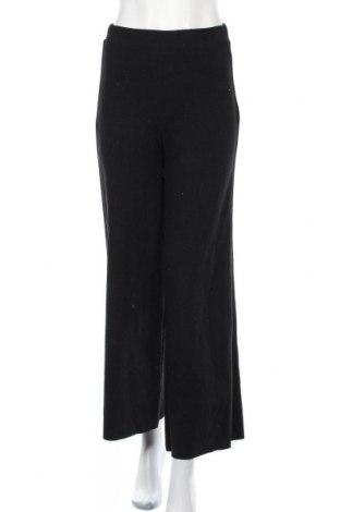 Дамски панталон Zara, Размер S, Цвят Черен, 52% памук, 48% полиестер, Цена 44,25лв.