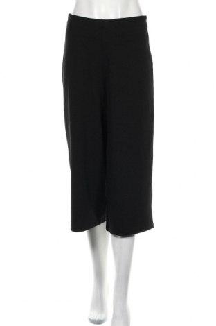Дамски панталон Zara, Размер S, Цвят Черен, 98% полиестер, 2% еластан, Цена 9,34лв.