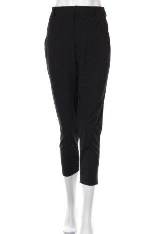 Дамски панталон Zara, Размер XS, Цвят Черен, 67% полиестер, 29% вискоза, 4% еластан, Цена 25,50лв.