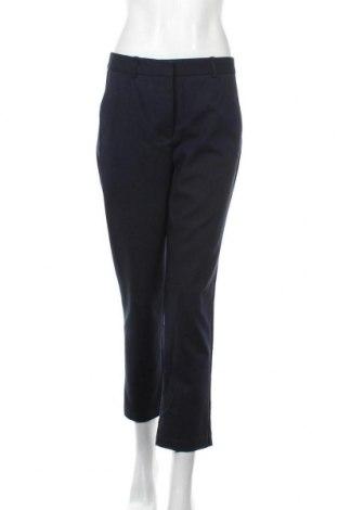 Дамски панталон Zara, Размер M, Цвят Син, 52% памук, 45% полиестер, 3% еластан, Цена 9,09лв.