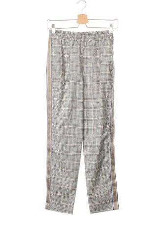 Дамски панталон Zara, Размер XS, Цвят Многоцветен, 44% памук, 38% полиестер, 15% вискоза, 3% еластан, Цена 7,09лв.
