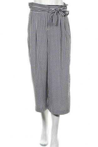 Дамски панталон Zara Trafaluc, Размер S, Цвят Син, 96% полиестер, 4% еластан, Цена 9,42лв.