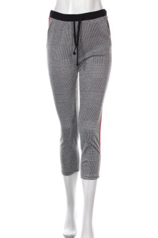Дамски панталон Zara Trafaluc, Размер S, Цвят Сив, 80% вискоза, 19% полиестер, 1% еластан, Цена 11,34лв.