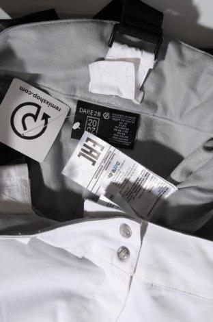 Дамски панталон за зимни спортове Dare 2B, Размер XL, Цвят Бял, Полиестер, Цена 41,00лв.