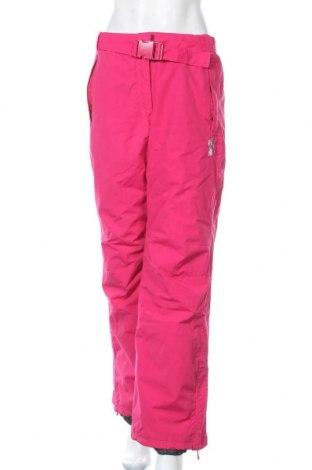 Дамски панталон за зимни спортове Peak Mountain, Размер XL, Цвят Розов, Полиамид, Цена 42,84лв.