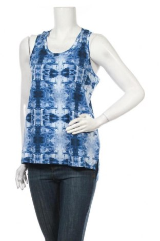 Γυναικείο αμάνικο μπλουζάκι Playful Motion, Μέγεθος XL, Χρώμα Μπλέ, Βαμβάκι, Τιμή 1,59€
