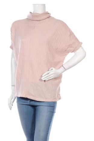 Дамски пуловер Ally, Размер S, Цвят Розов, Акрил, Цена 8,45лв.