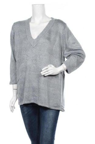 Дамски пуловер Autograph, Размер M, Цвят Сив, Акрил, вискоза, метални нишки, Цена 7,09лв.