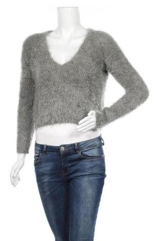 Дамски пуловер Ava & Ever, Размер S, Цвят Сив, 60% вискоза, 40% акрил, Цена 19,69лв.