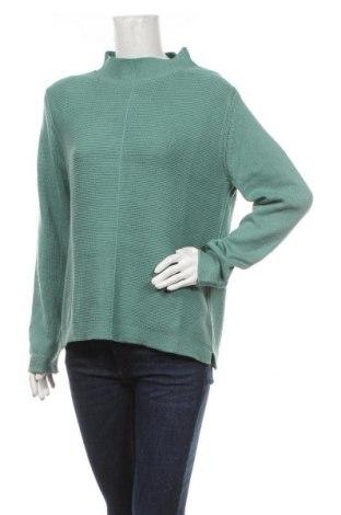 Γυναικείο πουλόβερ Tom Tailor, Μέγεθος L, Χρώμα Μπλέ, Βαμβάκι, Τιμή 16,73€