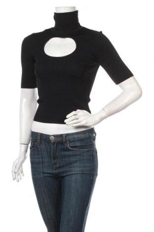 Дамски пуловер Zara, Размер S, Цвят Черен, 55% вискоза, 45% полиамид, Цена 12,60лв.