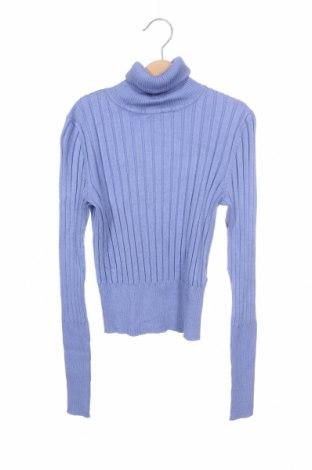 Pulover de femei Zara, Mărime S, Culoare Albastru, 72% viscoză, 28% poliamidă, Preț 72,50 Lei