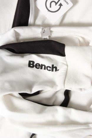 Γυναικείο φούτερ Bench, Μέγεθος M, Χρώμα Λευκό, 60% βαμβάκι, 40% πολυεστέρας, Τιμή 28,61€