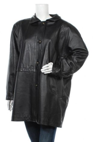 Дамско кожено яке Canda, Размер XXL, Цвят Черен, Естествена кожа, Цена 25,73лв.