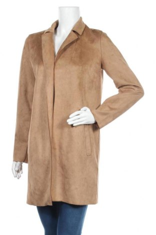 Дамско палто Noisy May, Размер M, Цвят Кафяв, Полиестер, Цена 34,56лв.