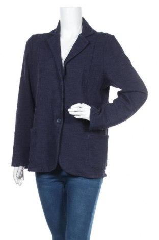 Дамско сако Gina Benotti, Размер XL, Цвят Син, 87% памук, 10% полиамид, 3% еластан, Цена 6,30лв.