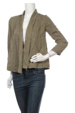 Дамско сако H&M, Размер XS, Цвят Зелен, Полиестер, Цена 7,09лв.