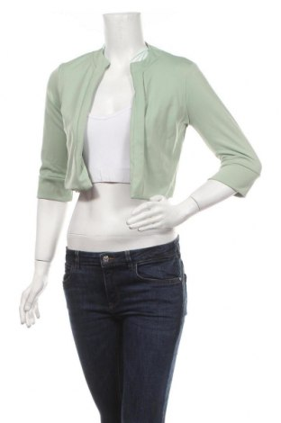 Дамско сако Quiz, Размер M, Цвят Зелен, 95% полиестер, 5% еластан, Цена 9,12лв.
