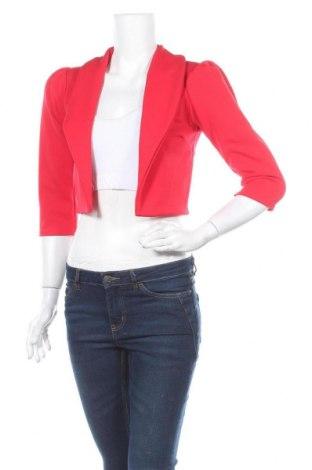 Дамско сако Quiz, Размер M, Цвят Червен, 95% полиестер, 5% еластан, Цена 13,13лв.