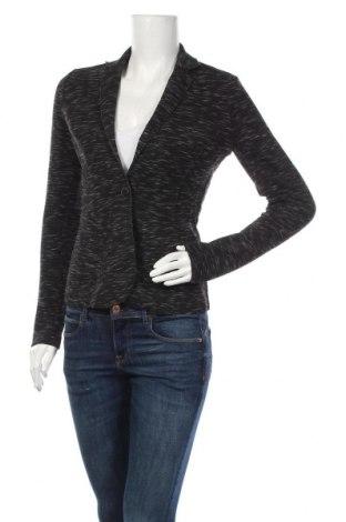 Дамско сако Tom Tailor, Размер S, Цвят Черен, 83% полиестер, 14% вискоза, 3% еластан, Цена 7,38лв.