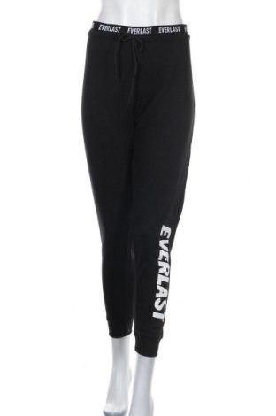 Дамско спортно долнище Everlast, Размер XL, Цвят Черен, 65% полиестер, 35% памук, Цена 28,98лв.