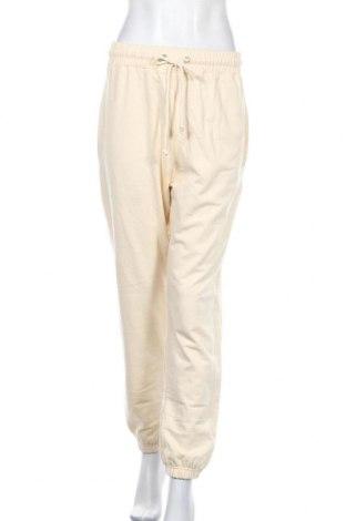Dámské tepláky Missguided, Velikost S, Barva Béžová, 60% bavlna, 40% polyester, Cena  281,00Kč