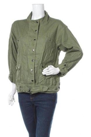 Дамско яке Bardot, Размер S, Цвят Зелен, 55% лен, 45% памук, Цена 11,08лв.