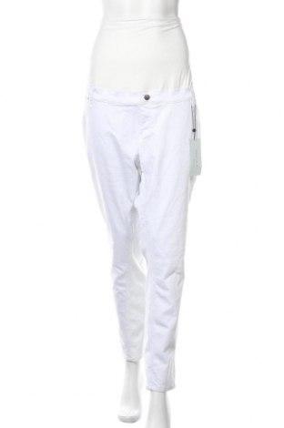 Дънки за бременни Anna Field, Размер XXL, Цвят Бял, 90% памук, 10% еластан, Цена 25,42лв.