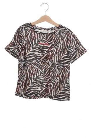 Bluză pentru copii Garcia, Mărime 7-8y/ 128-134 cm, Culoare Multicolor, 85% poliester, 15% in, Preț 13,00 Lei