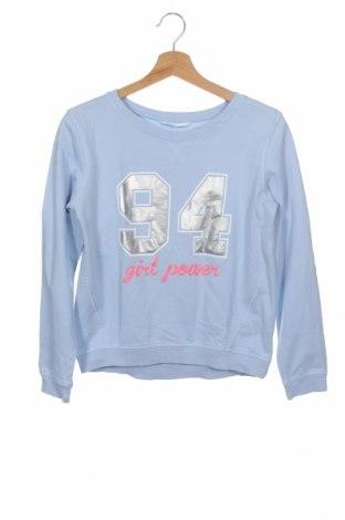 Детска блуза H&M, Размер 12-13y/ 158-164 см, Цвят Син, Памук, Цена 9,20лв.