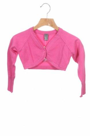 Pulover cu nasturi pentru copii Zara, Mărime 18-24m/ 86-98 cm, Culoare Roz, 70% bumbac, 30% poliamidă, Preț 25,79 Lei
