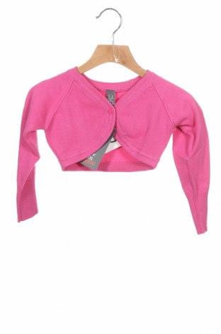 Pulover cu nasturi pentru copii Zara, Mărime 18-24m/ 86-98 cm, Culoare Roz, 70% bumbac, 30% poliamidă, Preț 20,13 Lei