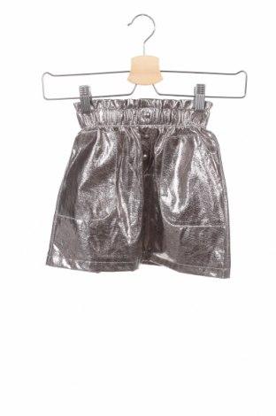 Παιδική φούστα Zara Kids, Μέγεθος 6-7y/ 122-128 εκ., Χρώμα Ασημί, 51% πολυεστέρας, 49% βαμβάκι, Τιμή 7,18€