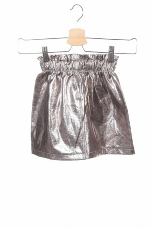 Παιδική φούστα Zara Kids, Μέγεθος 6-7y/ 122-128 εκ., Χρώμα Ασημί, 51% πολυεστέρας, 49% βαμβάκι, Τιμή 11,21€