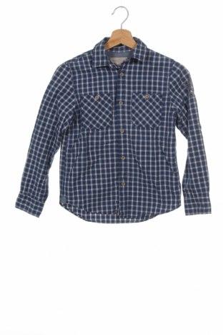 Детска риза H&M L.O.G.G., Размер 10-11y/ 146-152 см, Цвят Син, Памук, Цена 8,40лв.
