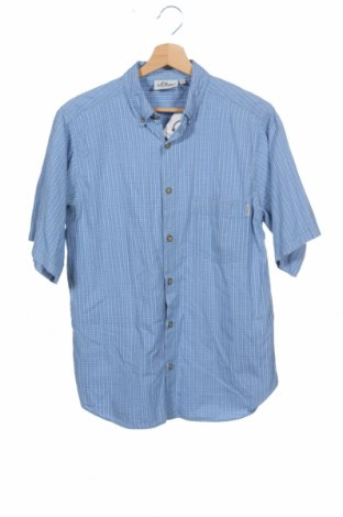 Детска риза S.Oliver, Размер 15-18y/ 170-176 см, Цвят Син, Цена 5,50лв.