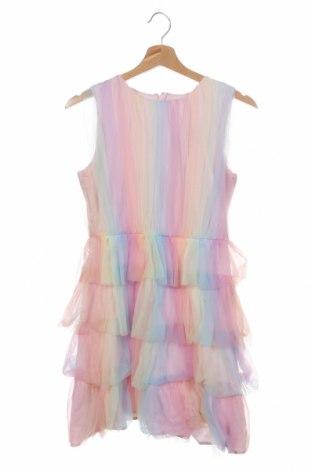 Детска рокля Chi Chi, Размер 11-12y/ 152-158 см, Цвят Многоцветен, 92% полиестер, 8% еластан, Цена 20,70лв.