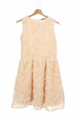 Παιδικό φόρεμα Guess By Marciano, Μέγεθος 13-14y/ 164-168 εκ., Χρώμα  Μπέζ, Πολυεστέρας, Τιμή 49,87€