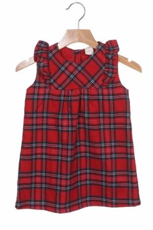 Детска рокля H&M, Размер 12-18m/ 80-86 см, Цвят Многоцветен, 64% полиестер, 34% вискоза, 2% еластан, Цена 13,26лв.