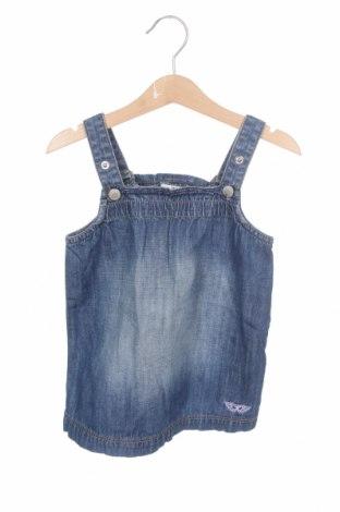 Детска рокля Tom Tailor, Размер 12-18m/ 80-86 см, Цвят Син, Памук, Цена 17,60лв.