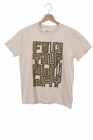 Παιδικό μπλουζάκι Molo, Μέγεθος 8-9y/ 134-140 εκ., Χρώμα  Μπέζ, Βαμβάκι, Τιμή 11,21€