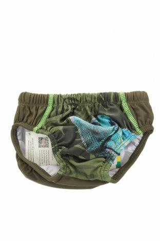 Детски бански Playshoes, Размер 9-12m/ 74-80 см, Цвят Зелен, 85% полиестер, 15% еластан, Цена 5,98лв.