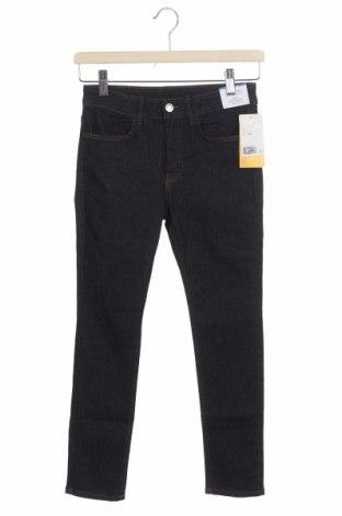Детски дънки H&M, Размер 9-10y/ 140-146 см, Цвят Син, 80% памук, 18% полиестер, 2% еластан, Цена 19,47лв.