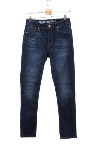 Dziecięce jeansy, Rozmiar 13-14y/ 164-168 cm, Kolor Niebieski, Cena 51,30zł
